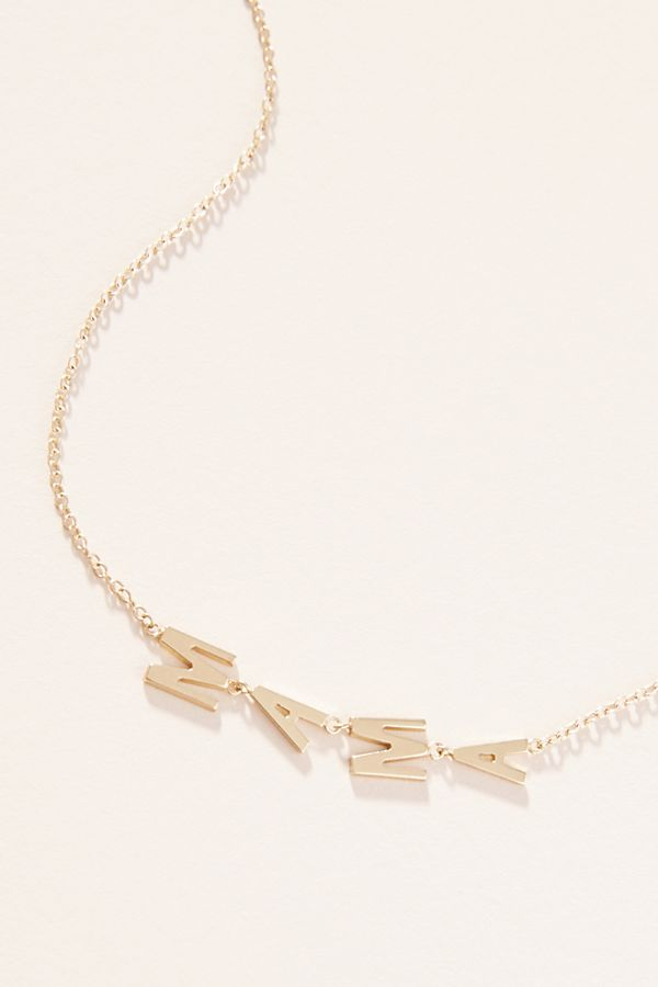 Jennifer Zeuner Jewelry Mama Necklace by Jennifer Zeuner Jewelry