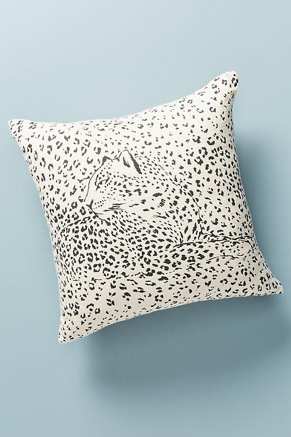 Slide View: 1: Leopard Pillow