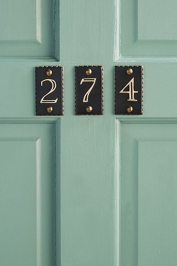 Slide View: 1: Nora House Numbers