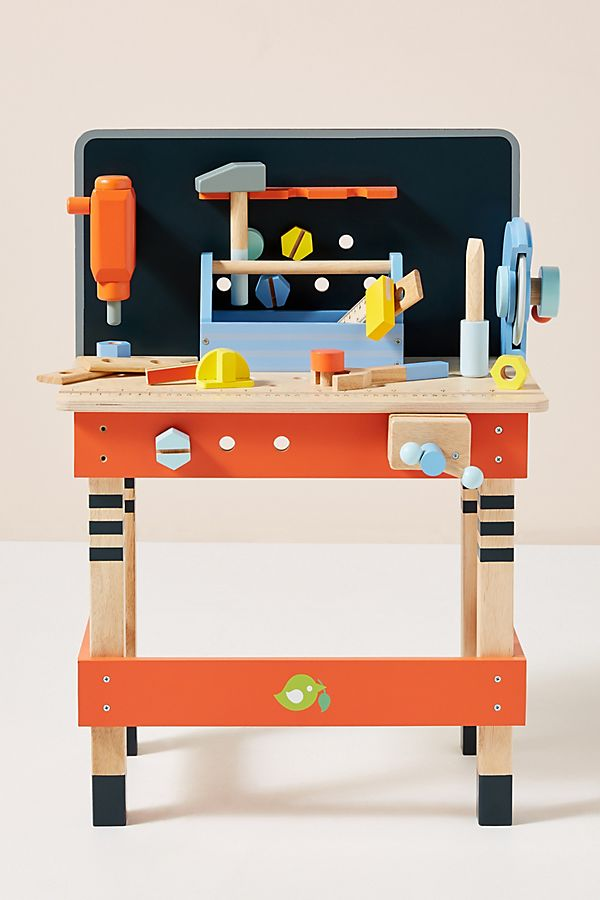 Slide View: 1: Play Tool Bench Set