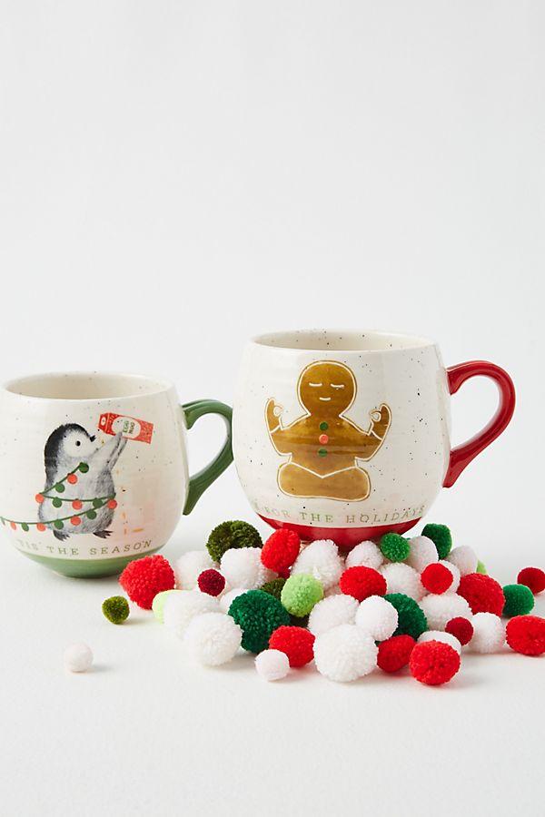 Slide View: 2: Dear Hancock Tis The Season Mug