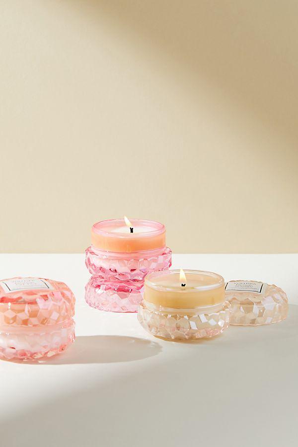 Slide View: 3: Volupsa Mini Glass Candles, Set of 3