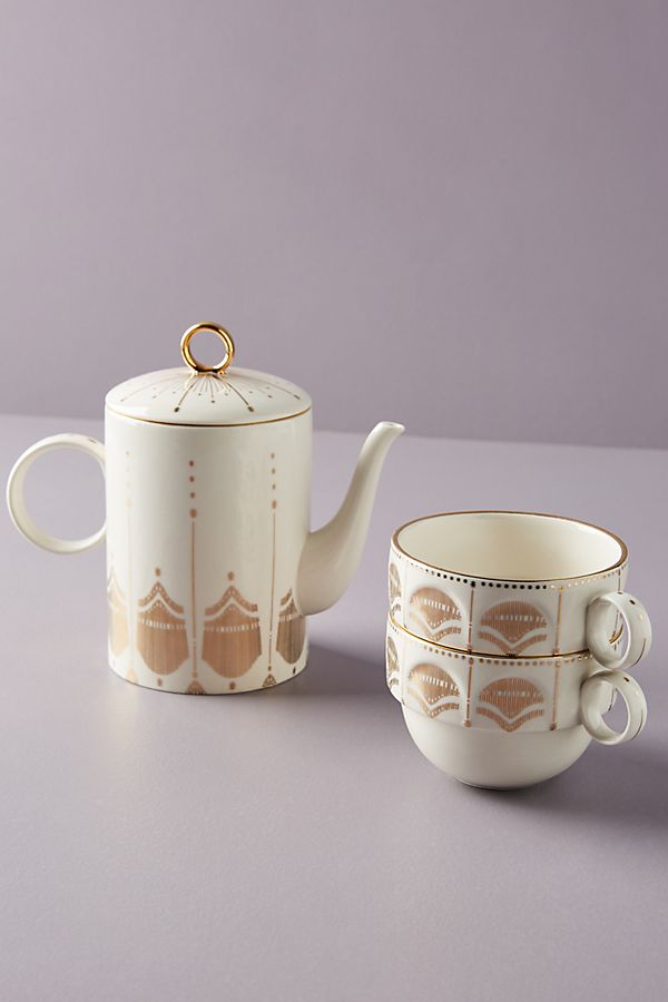 Slide View: 1: Michele Tea For Two Set