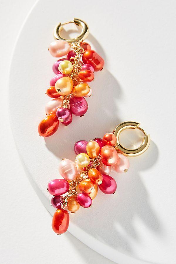 2851d2056db9e BaubleBar Pearl Cluster Drop Earrings