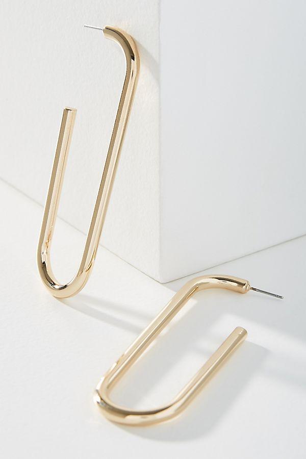 Bauble Bar Troian Hoop Earrings by Bauble Bar