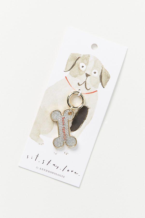 Slide View: 1: Bone Appetit Dog Collar Charm