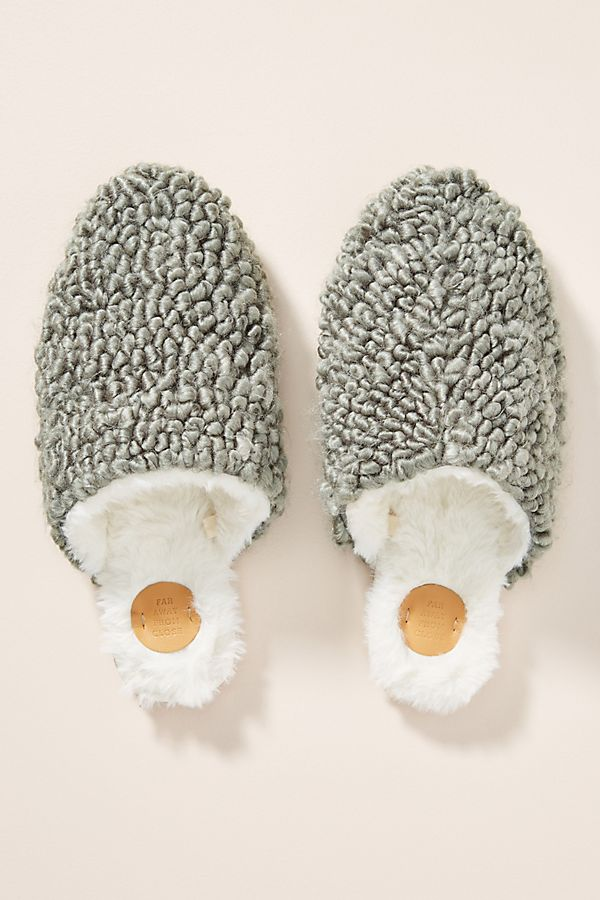 Slide View: 1: Avery Wool Slippers
