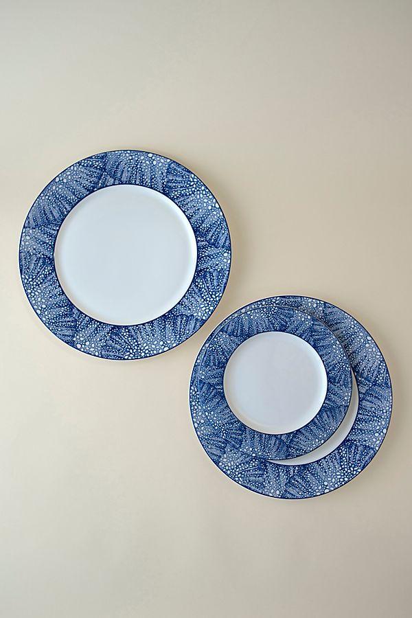 Slide View: 2: Caskata Sea Fan Dinner Plate