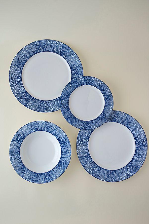 Slide View: 5: Caskata Sea Fan Dinner Plate
