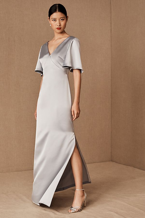 Slide View: 1: Monique Lhuillier Bridesmaids Caswell Dress