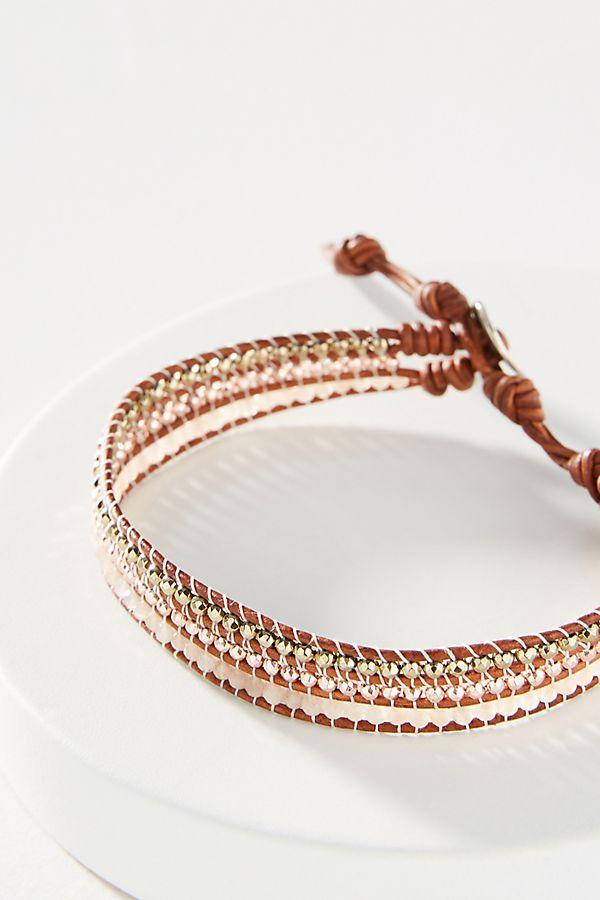 meilleur choix sélectionner pour dernier recherche d'authentique Chan Luu Rose Gold Wrap Bracelet