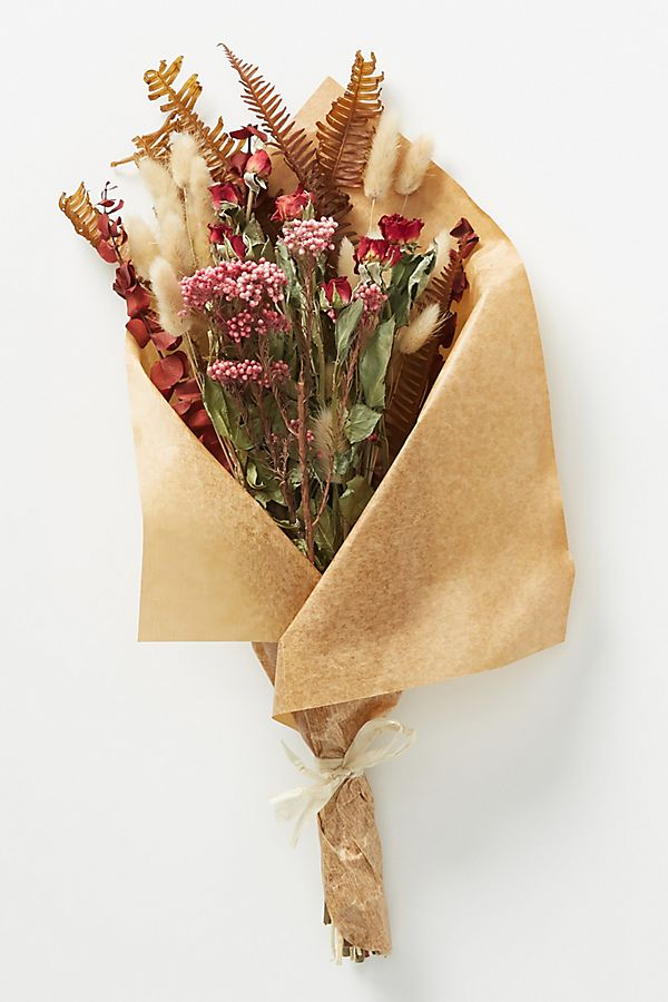 Slide View: 1: Dried Pepperberry Bouquet