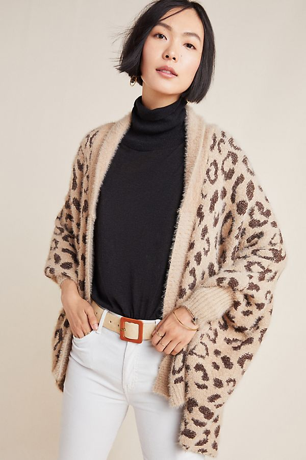 Slide View: 1: Louise Leopard Wrap
