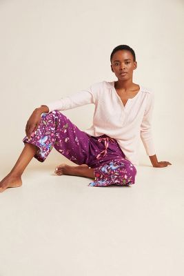 Bex Parkin Nightingale Flannel Sleep Pants Anthropologie
