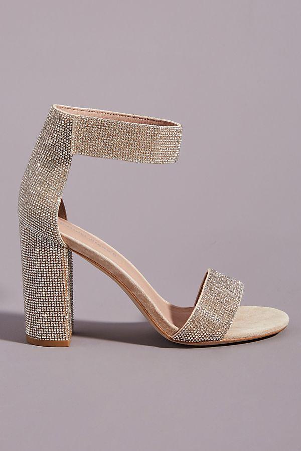 Jeffrey Campbell Lindsay Champagne Heels