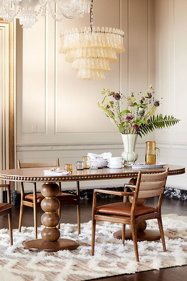 Slide View: 8: Soho Home x Anthropologie Roped Back Dining Chair