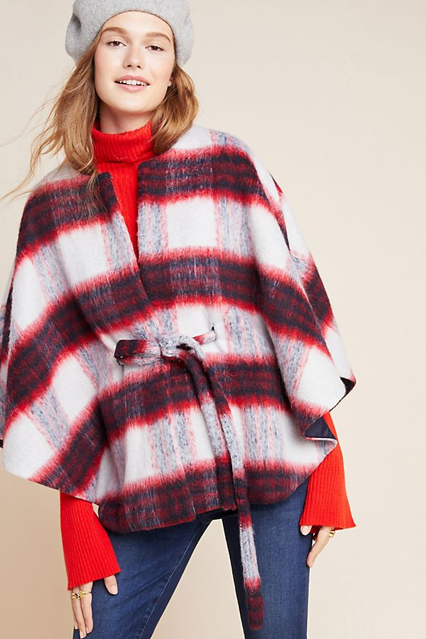 Slide View: 2: Johanna Plaid Capelet