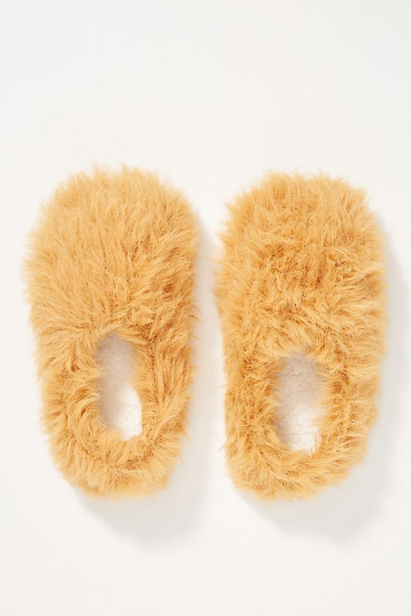 Slide View: 1: Classic Fuzzy Slippers
