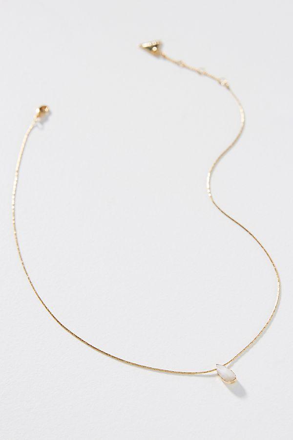 Teardrop Necklace by Serefina