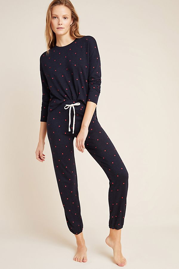 Slide View: 1: Sundry Dotted Sweatpants