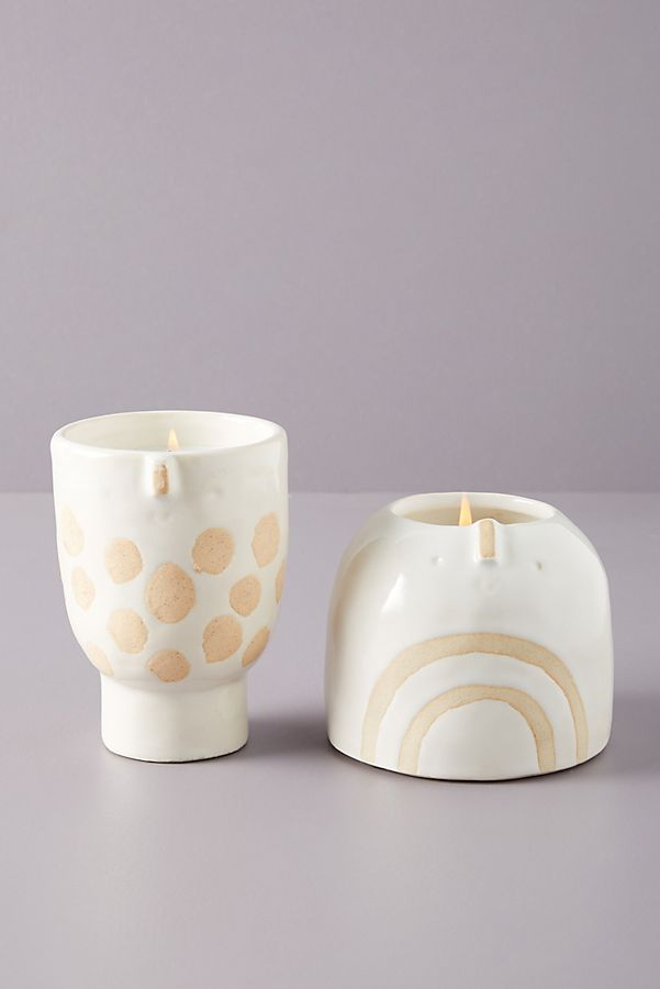 Slide View: 1: Atelier Stella Ceramic Candle