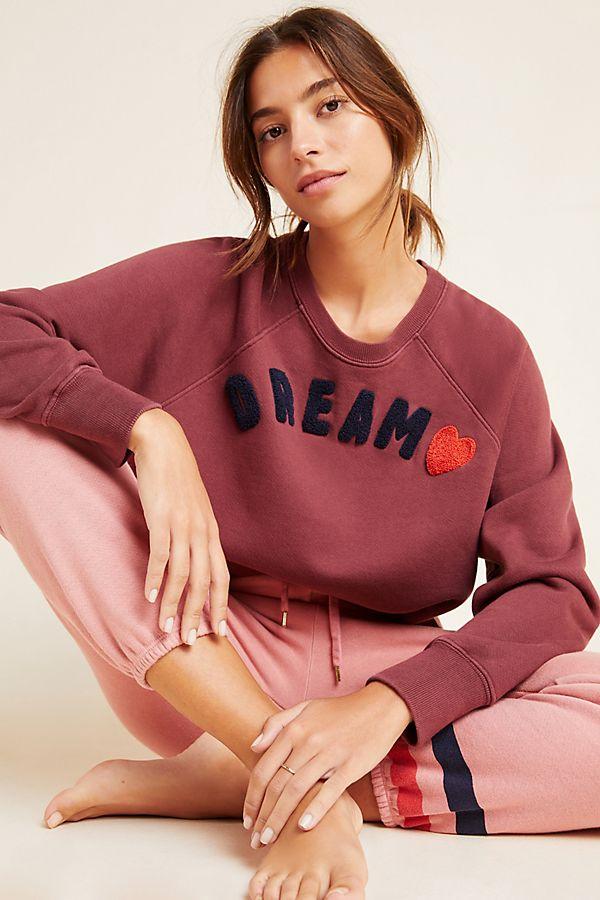 Slide View: 1: Sundry Dream Cut-Off Sweatshirt