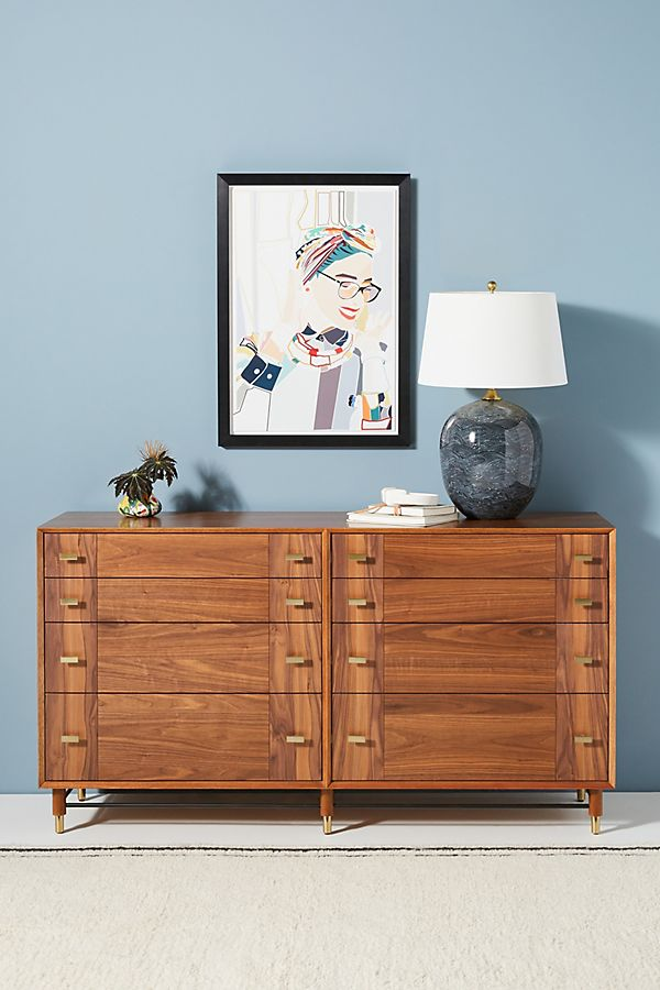 Slide View: 1: Avalene Eight-Drawer Dresser