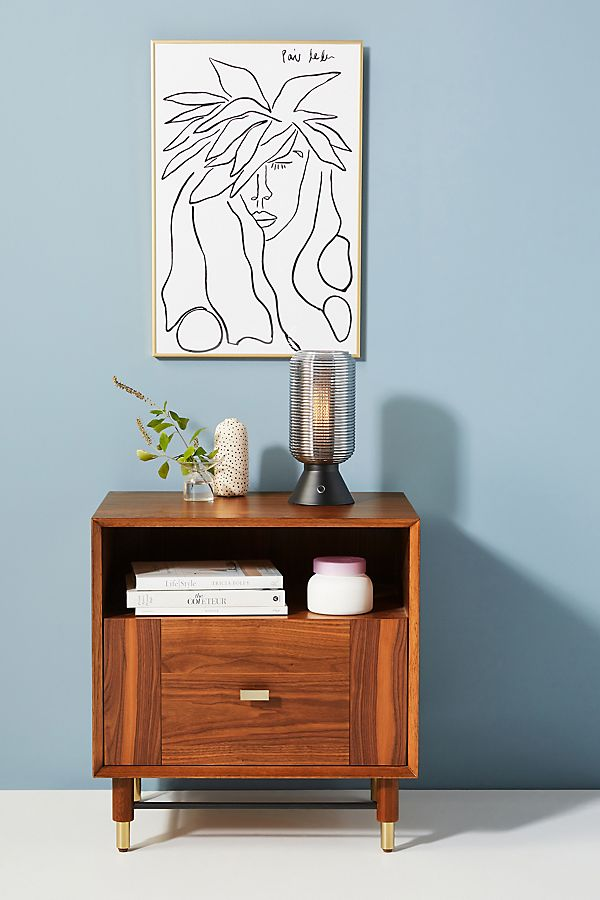 Slide View: 1: Avalene Nightstand