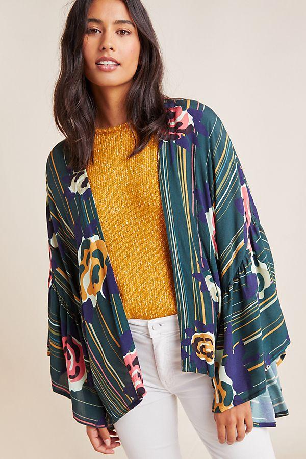 Slide View: 1: Juniper Kimono