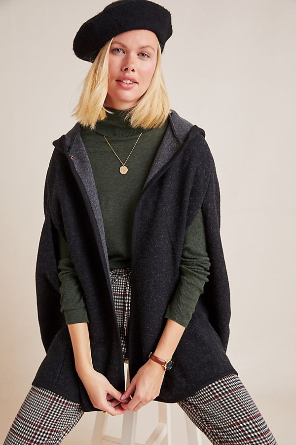 Slide View: 1: Bellamy Hooded Capelet