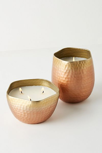 Livi Metallic Candle
