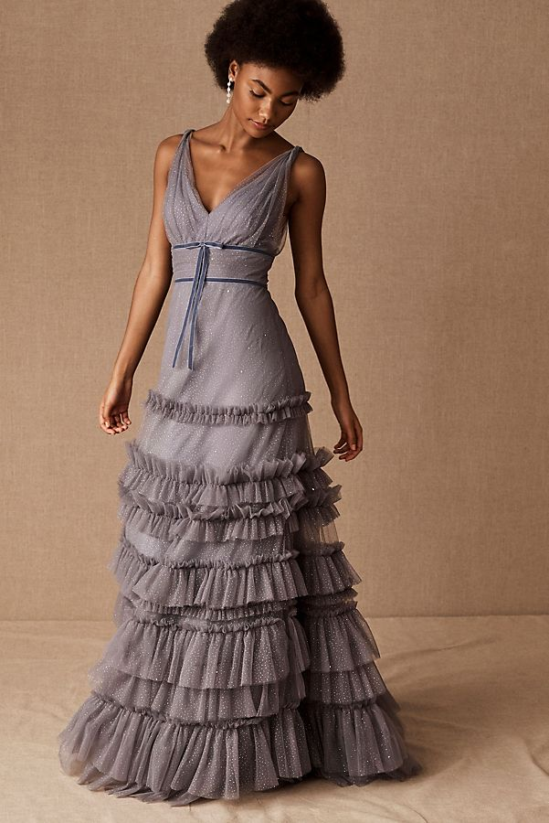 Slide View: 1: Marchesa Notte Alaudine Dress