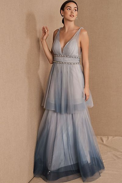 Marchesa Notte Weaver Dress