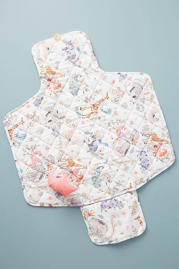 Slide View: 1: Paper & Cloth Dreamland Changing Pad