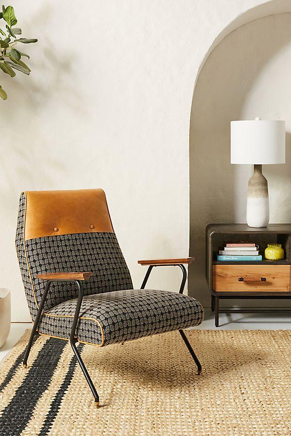 Slide View: 1: Modern Grid Quentin Chair