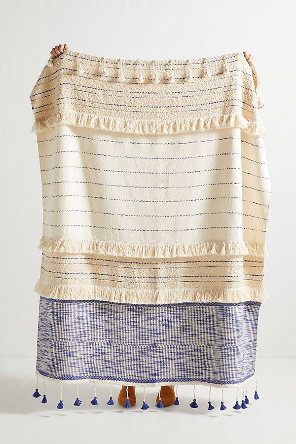 Slide View: 1: Embellished Nayo Throw Blanket