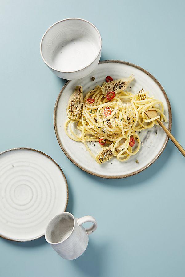 Slide View: 1: Matte Mavis Dinner Plates, Set of 4