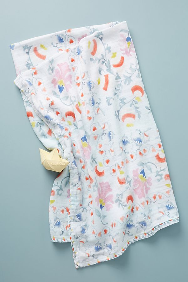 Slide View: 1: Floral Swaddle