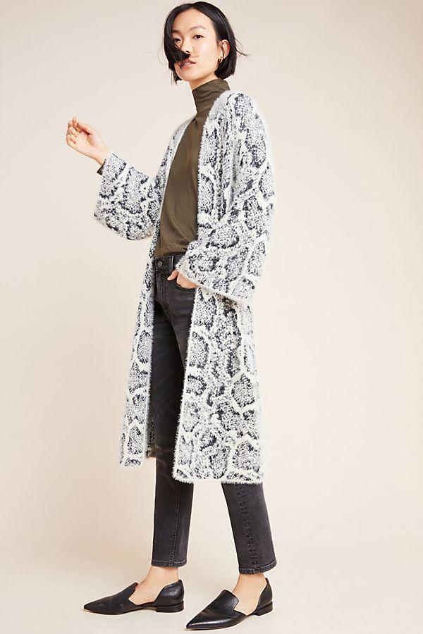 Slide View: 1: Gable Eyelash Kimono
