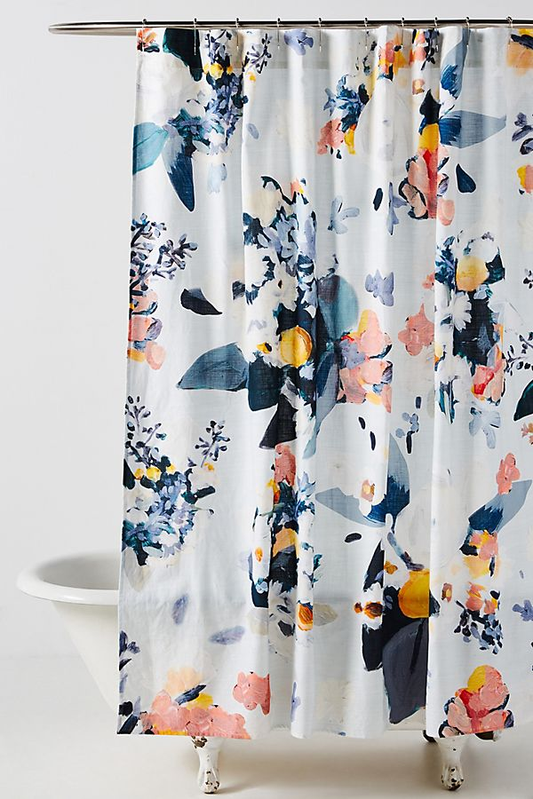 Slide View: 1: Botanica Shower Curtain