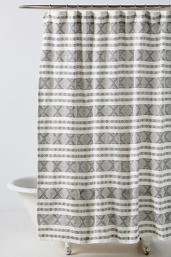 Slide View: 1: Rowan Shower Curtain