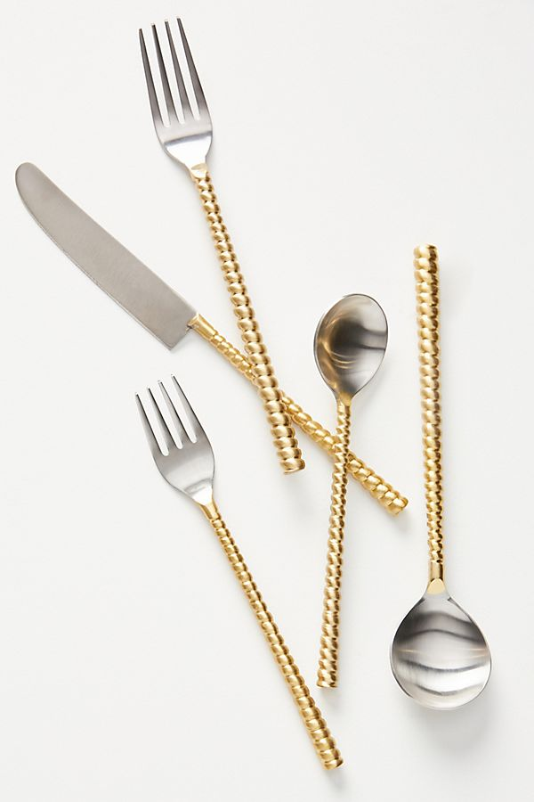 Slide View: 1: Benedetta Flatware