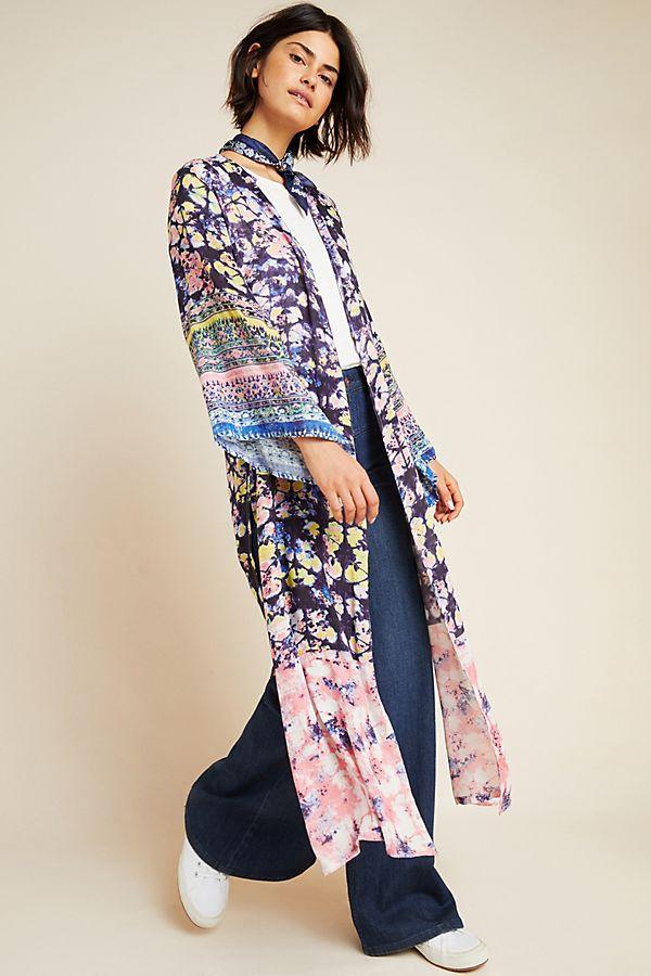 Slide View: 1: Tatiana Duster Kimono