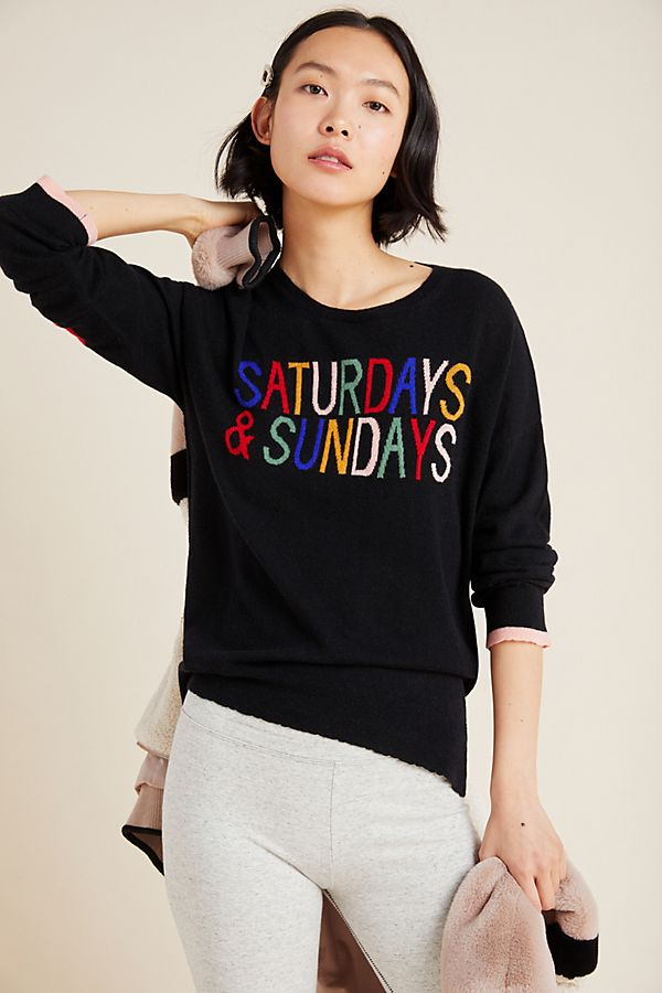 Slide View: 1: Sundry Saturdays & Sundays Sweater