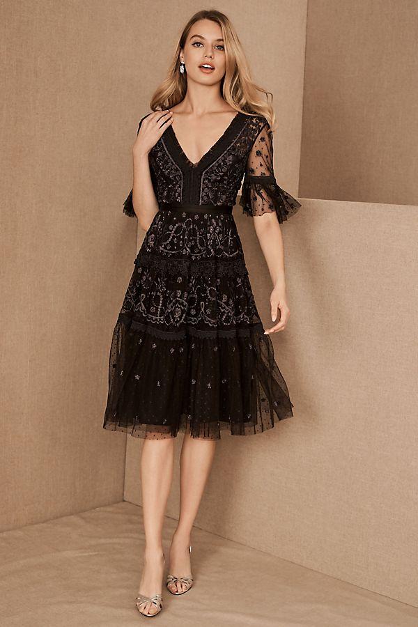 Slide View: 1: Needle & Thread Midsummer Dress