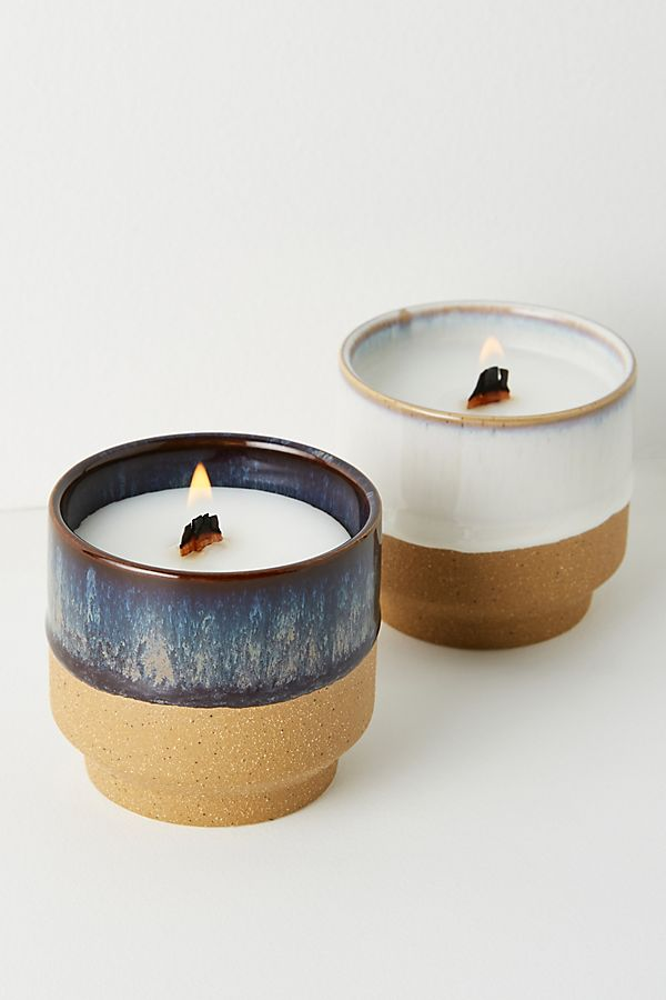 Slide View: 1: Akemi Ceramic Candle