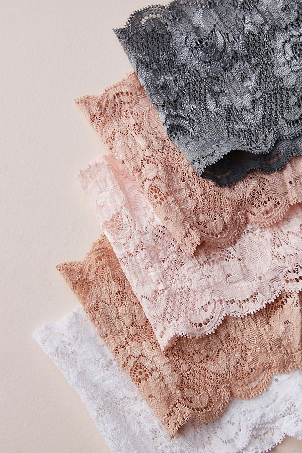 Slide View: 1: Cosabella Lace Thong Set