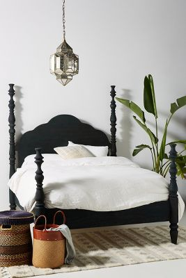 Rosalie Four Poster Bed Anthropologie