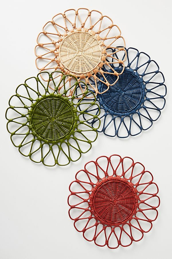 Slide View: 2: Penny Rattan Placemat
