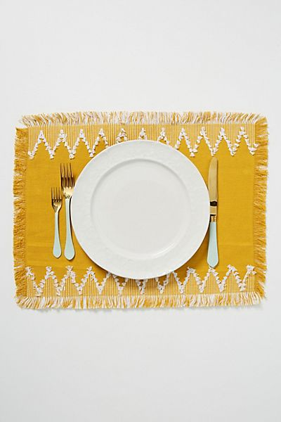 Wilma Placemats, Set of 4